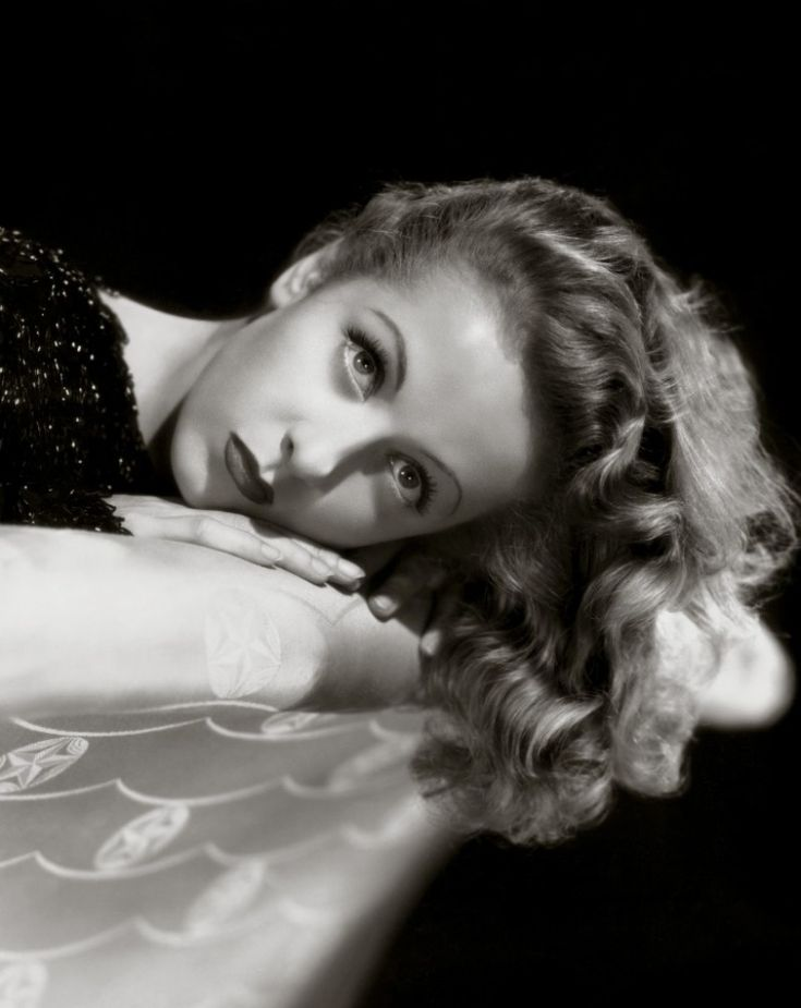 French actress Danielle Darrieux, 1940s.