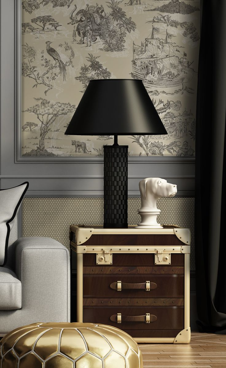 Toile Base Castanho e Bege (Toile Base Brown and Beige)