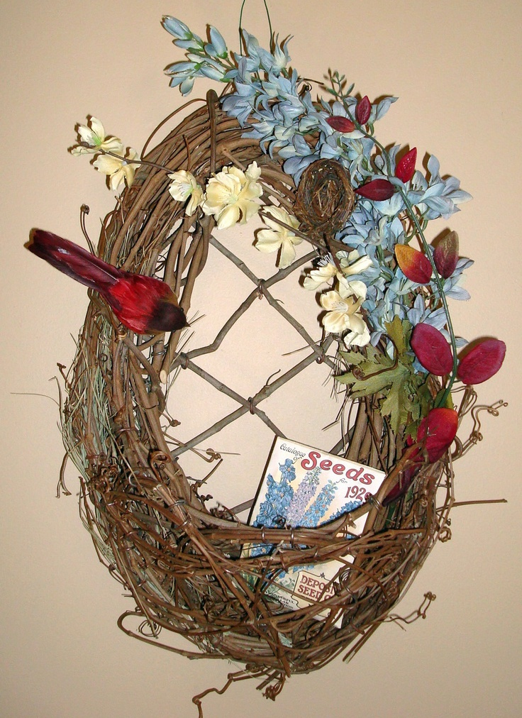 Diy spring wreath i bought all the materials at michael