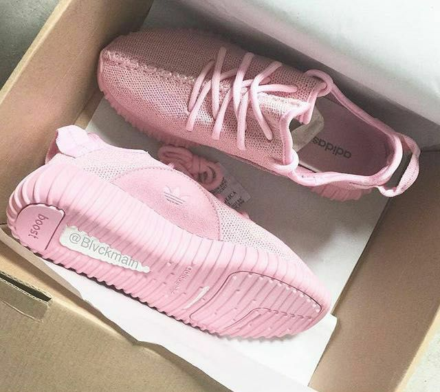 I am searching for those yeezys, bc my sister is going to be 18 and she wants those so bad. I really wanna make her happy and buy her those! But I need pink ones, like in the picture, and they must ship to germany. Thanks!
