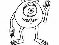Mike From Monsters Inc Coloring Pages - Bing Images
