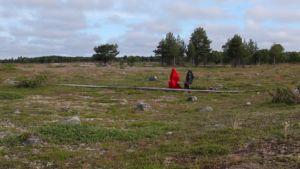 Roadmap 2/10 Passage the film. Collaborators: Pauliina Punkki, Raisa Punkki, Jutta Annala. Photo by: Pauliina Punkki