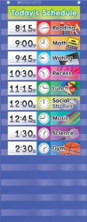 9 best Preschool Schedule/Calendar images on Pinterest   Visual ...