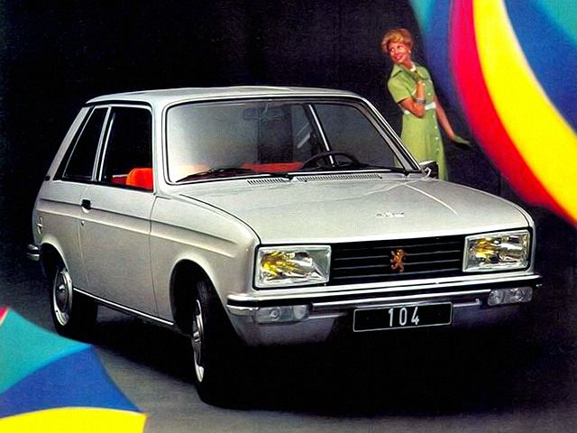 Peugeot 104 Coupe