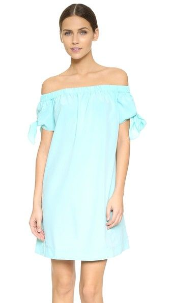 Rachel Antonoff Fitte Off The Shoulder Mini Dress