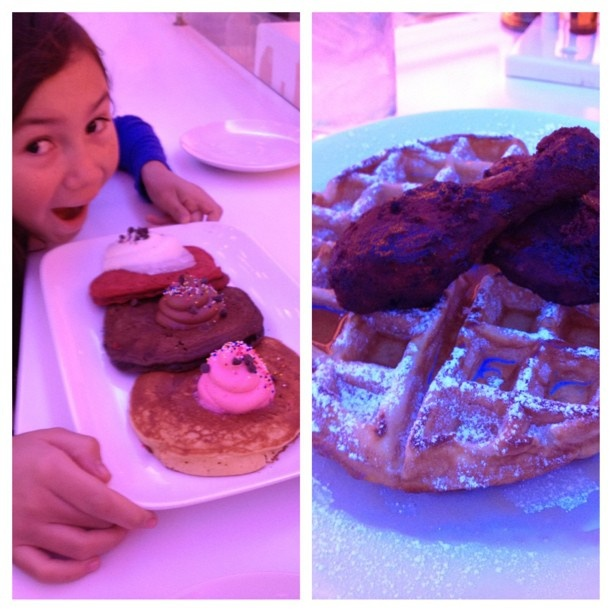 .@nelle629 | Happy Girls Day brunch!!! #girlsday#americancupcake#sf#sunday#funday#bunny#br...