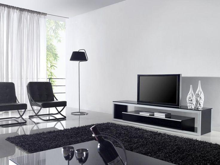 minalist  | Eye Catching Minimalist Living Room With Modern TV Table Minimalist ...