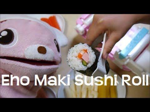 Eho-Maki Sushi Roll Maker Toy 2013 恵方巻き くるりんまきまきロール