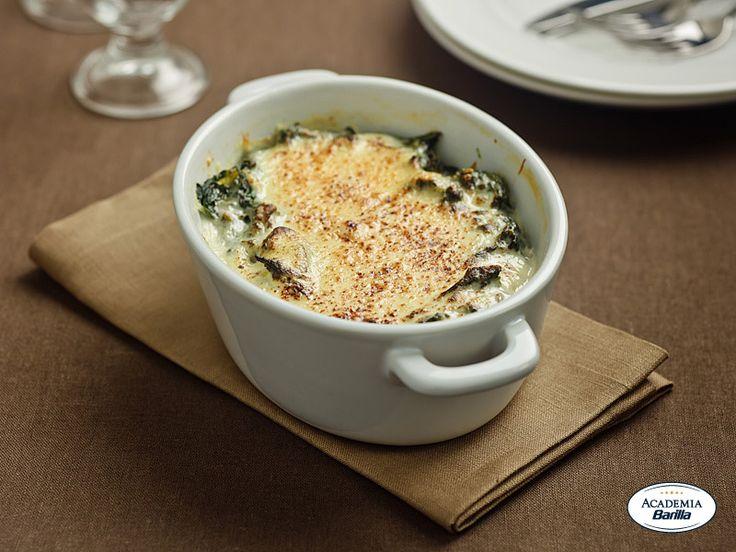 Spinaci alla fiorentina barilla le regionali ricette for Ricette toscane