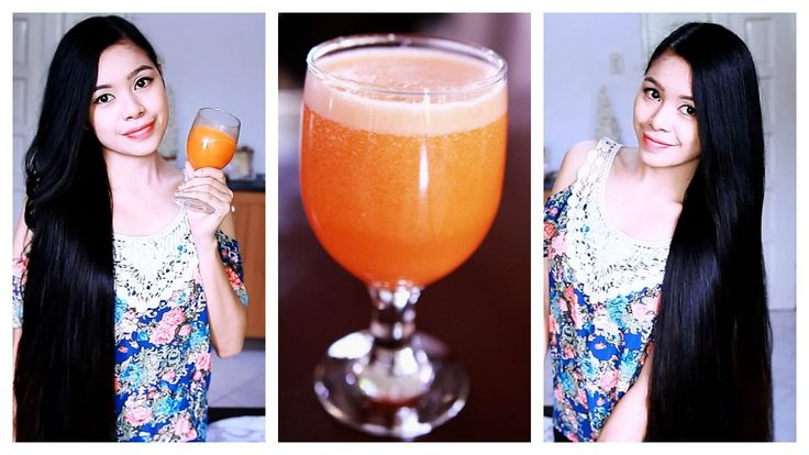 DIY Carrot Juice For Healthy Hair And Skin Plus Hair Growth Smoothie Rec...