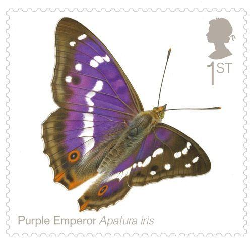 British Butterflies Issued July 2013.                Purple Emperor - Apatura iris