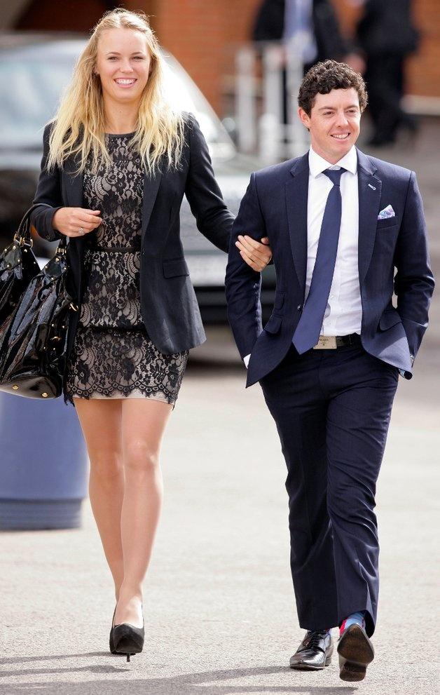 Rory Mcllroy With Girlfriend Caroline Wozniacki Rory Mcilroy Caroline Wozniacki Rory Mcilroy Girlfriend