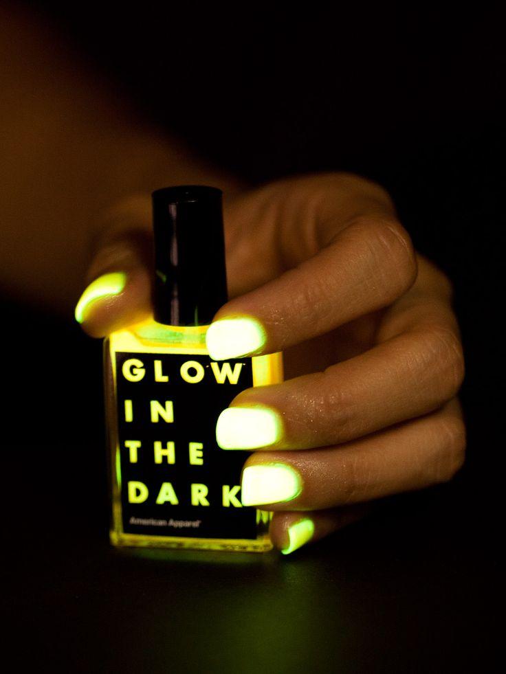 American Apparel - Glow in the Dark Nail Polish