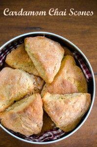 Bake your favourite cardamom scones using Tea India Chai Moments powder.