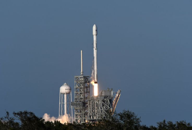 SpaceX Launches a Satellite With a Partly Used Rocket
