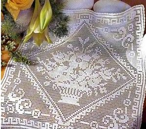 Basics of making filet crochet