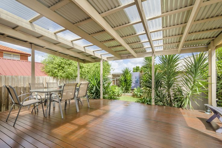 Envision spending lazy summer days in the lush outdoor haven! 1 Mirls Street, Newport
