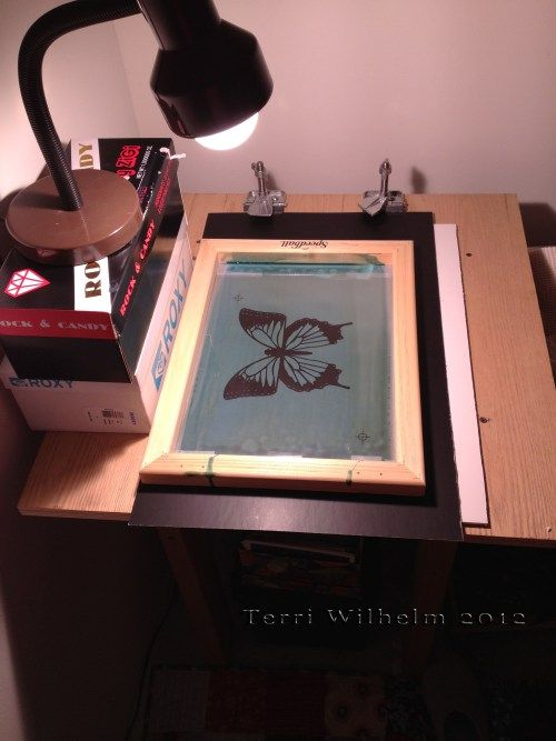 Screenprinting At Home