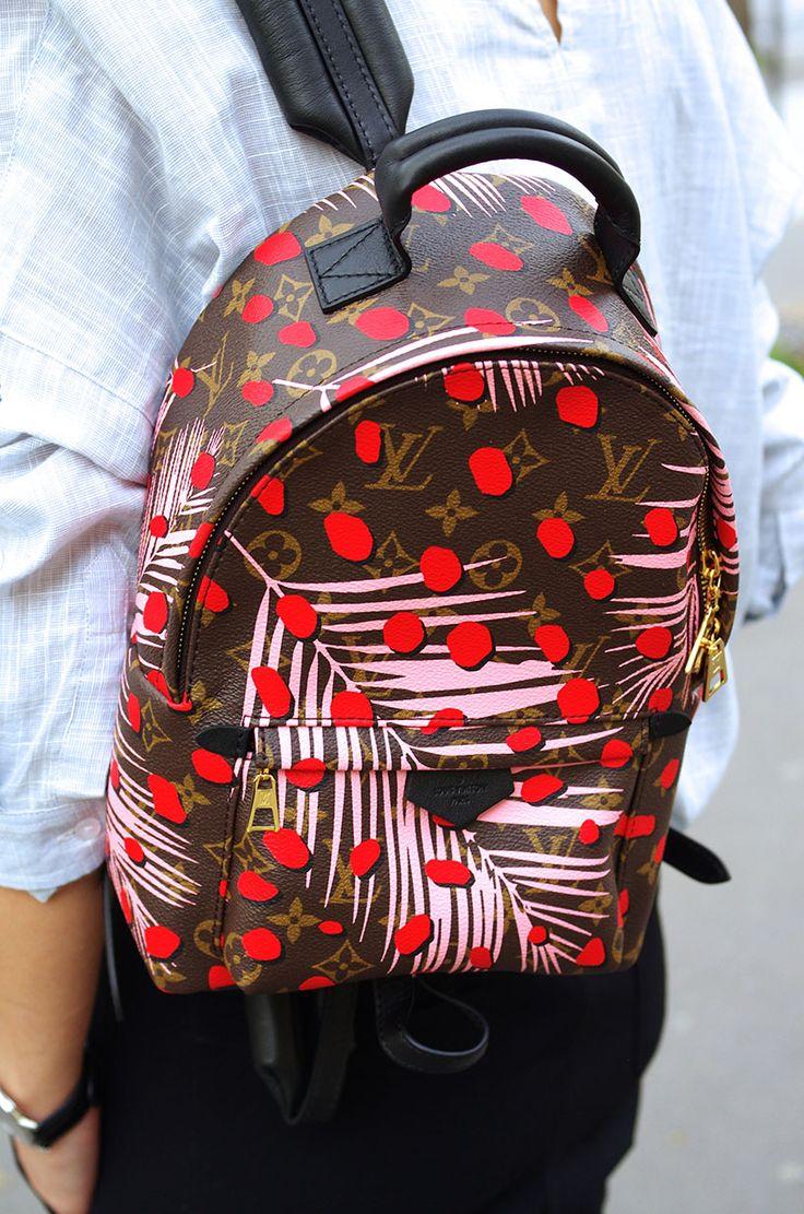 Elizabeth l TROPICAL PRINTS outfit l Louis Vuitton Palm Springs backpack l THEDEETSONE l http://thedeetsone.blogspot.fr