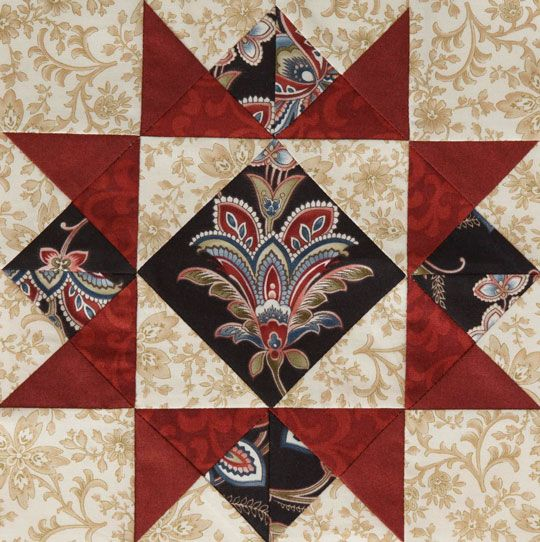 2012 Mystery Quilt from American Patchwork & Quilting: Block 2
