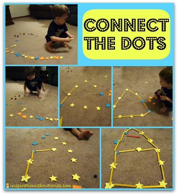 Play connect the dots using foam stars and craft sticks: Plays Connection, Foam Stars, Craft Sticks, Connect The Dots, Stars Plays, Activities Crafts, Connection The Dots, Popsicles Sticks, Crafts Sticks