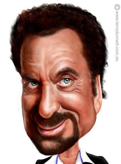 Tom Jones Caricature - www.remix-numerisation.fr - Rendez vos souvenirs durables ! - Sauvegarde - Transfert - Copie - Restauration de bande magnétique Audio