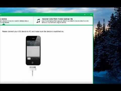 iPhone Data Recovery - How to Recover iPhone Contacts, SMS, Photos, Music from iTunes Backup Files