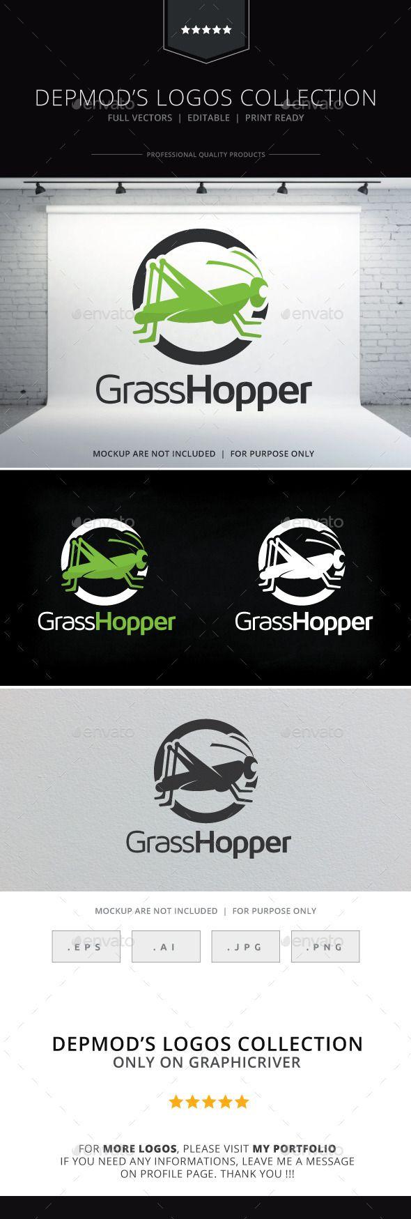 So much pileup vintage pro wrestling logos - Grasshopper Logo