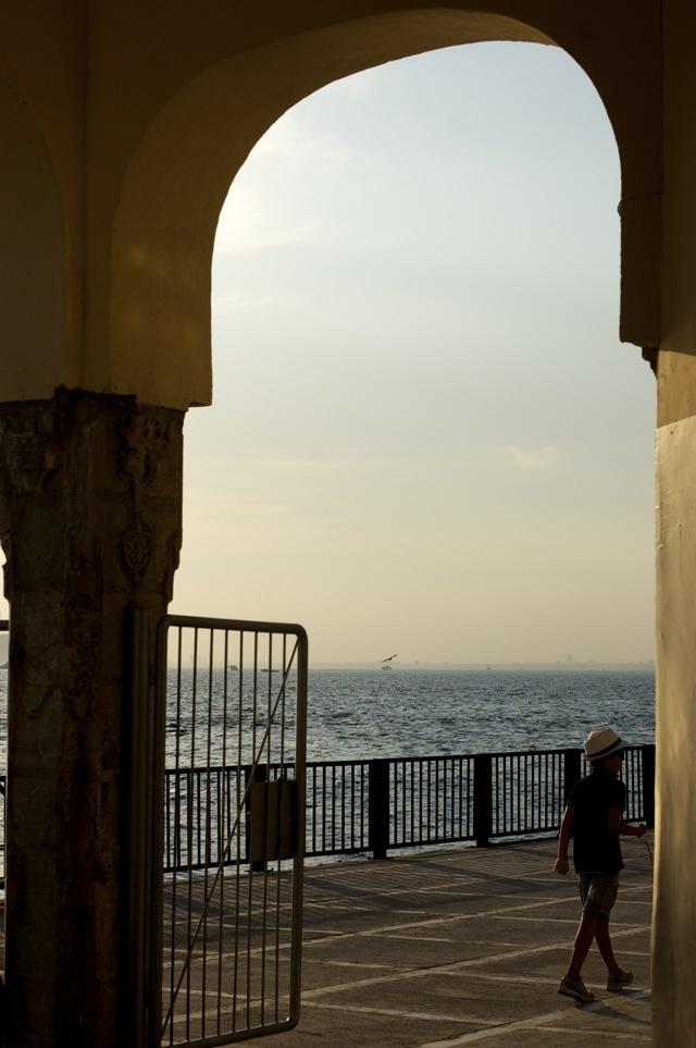 Büyükada evening at the iskele/ferry port
