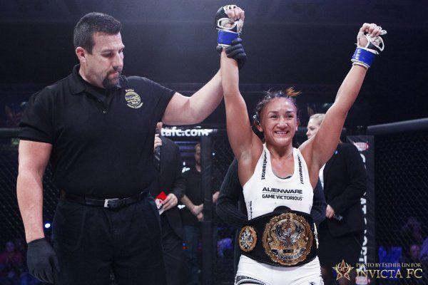 Carla Esparza ready to make first title defense.