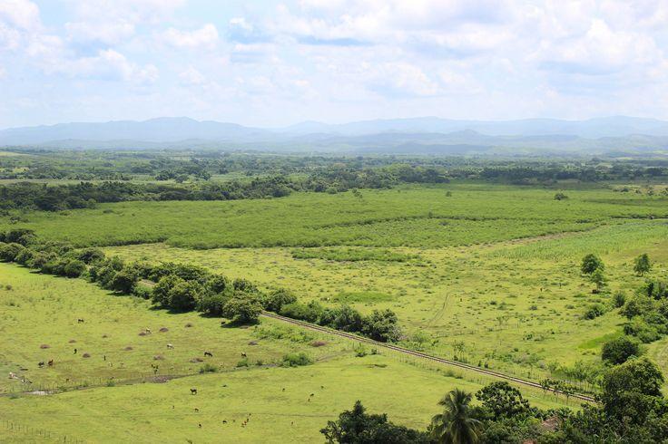 Valle de los ingenios. Cuba.