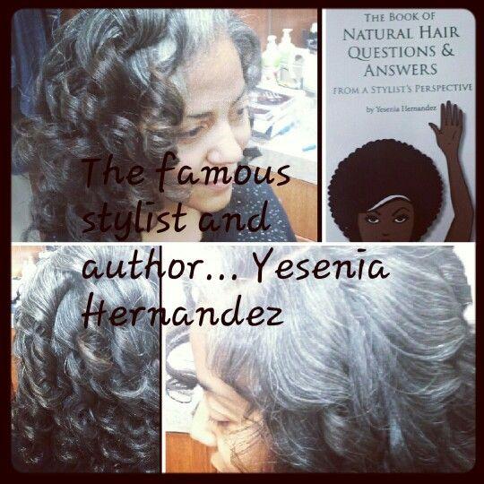 @Shayna Kawase Natural Hair done by @trinitysalon113