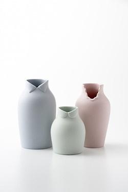 lovely pastel vases