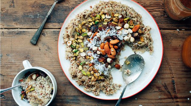 In the days leading up to Tisha B'av — especially in light of the war in Gaza — food isn't as joyous as usual. Molly Yeh offers coconut quinoa as a source of comfort and nourishment.