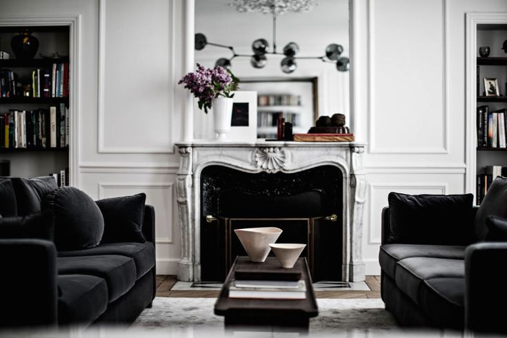 Parisian Modern Midcentury Apartment I More on viennawedekind.com