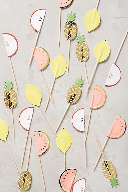 Fruit Snack Party Picks