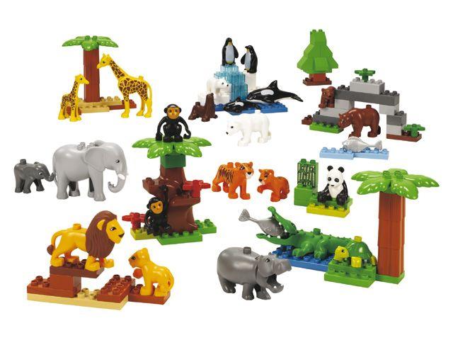 Lego Duplo 9218 dierentuindieren