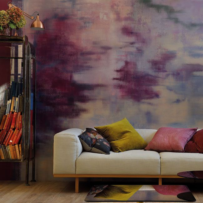 Create a beautiful mess: distressed walls in 1, 2, 3