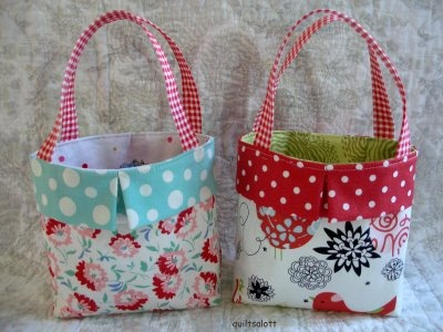 Cute bag with link to (free) pattern