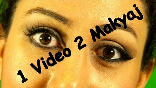 Gözü büyük gösteren makyaj nasıl yapılır? Gözü çekik gösteren makyaj nasıl yapılır? İşte tek videoda iki göz makyajı birden karşılaştırmalı olarak sizlerle.
