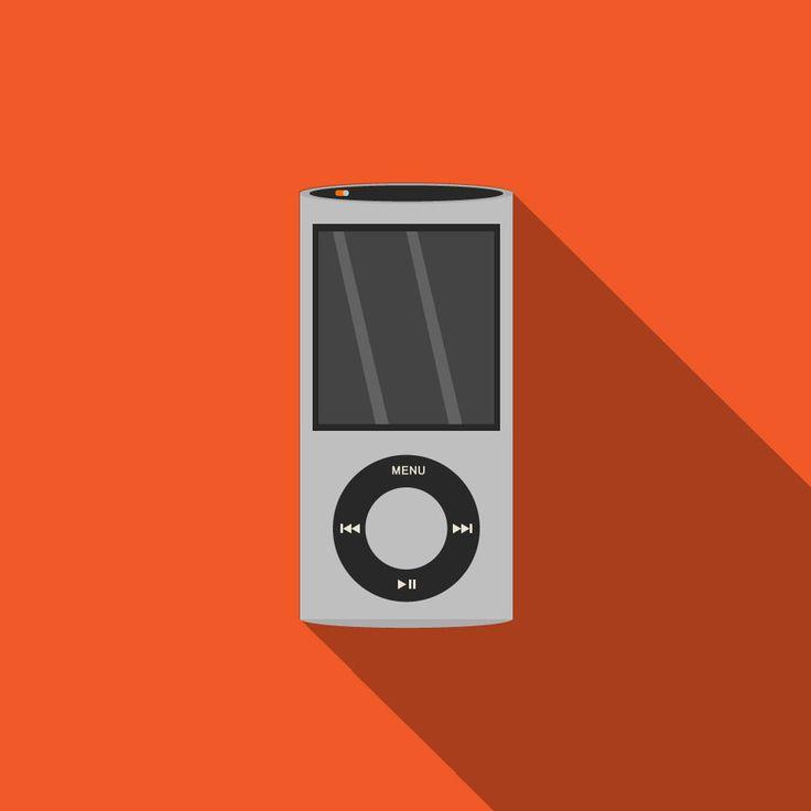 Flat Ipod Nano by GrubyKisiel
