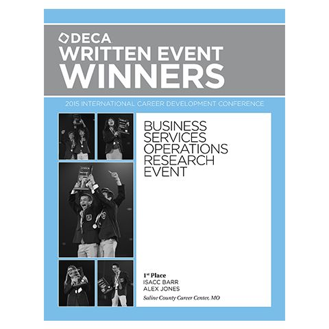 2015 Written Event Winners