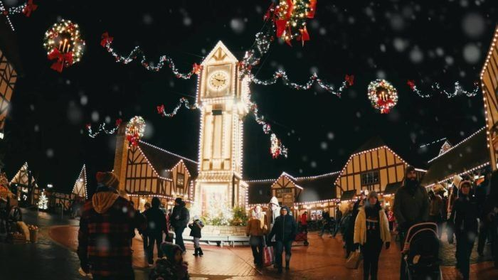 Christmas Town Hours At Busch Gardens
