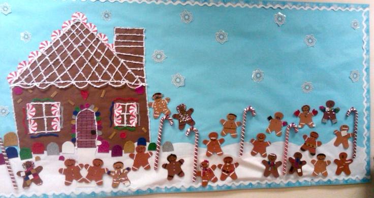 Gingerbread Bulletin Board Things I Ve Created