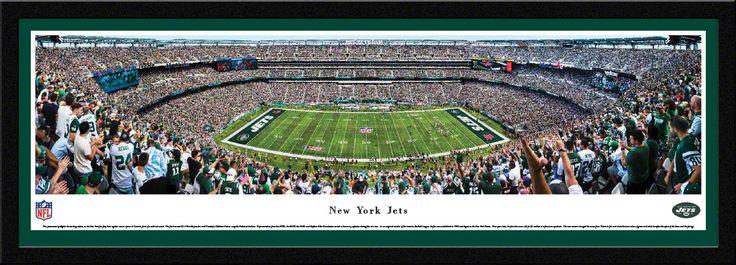 New York Jets Panoramic Picture - MetLife Stadium Panorama - Select Frame $149.95