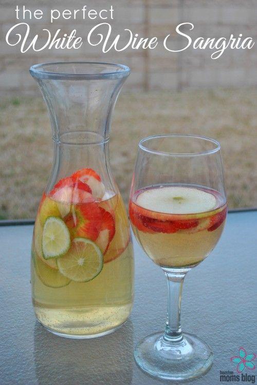 The Perfect White Wine Sangria Recipe | Houston Moms Blog