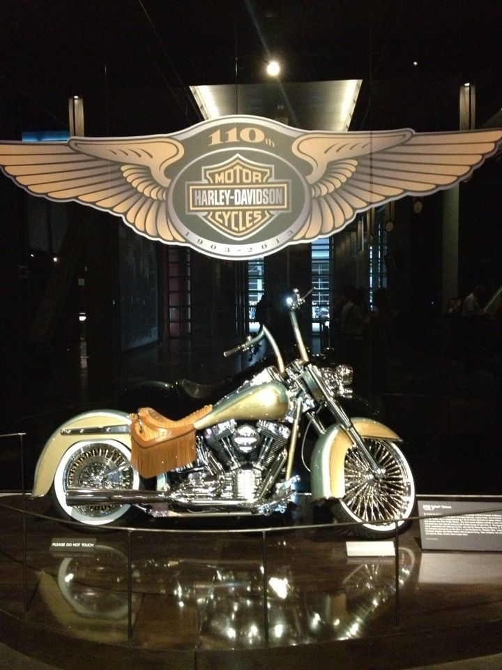 Harley-Davidson Museum in Milwaukee, WI