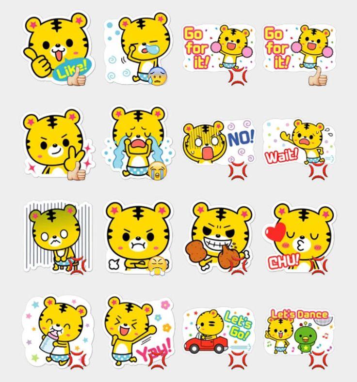 Yango The Baby Tiger Stickers Set | Telegram Stickers