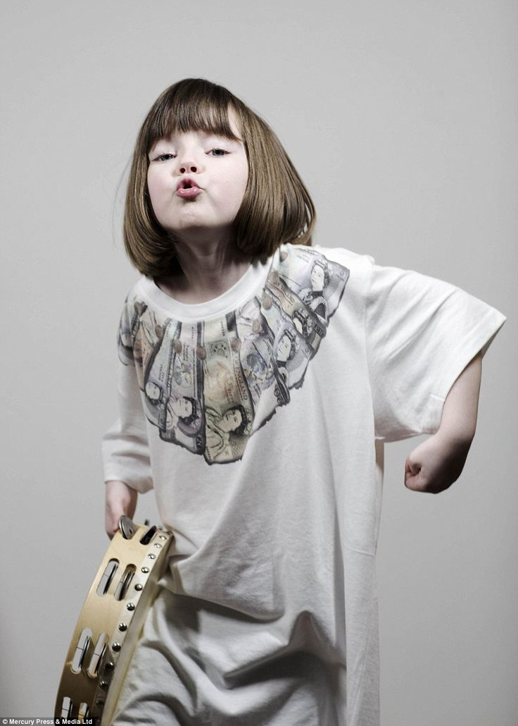 Biba, posed as Ian Brown from the Stone Roses, and her sister danced around the studio to the Jungle Book soundtrack