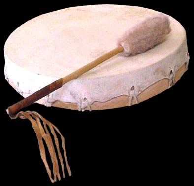 """Deerskin Drum - The frame drum of the native people of the west coast of Canada is found in a variety of sizes. Common to many of the peoples of the coastal and inland regions, this was an important instrument used in a variety of rituals and dances. These drums are not usually tuned, and often accompany singing and dancing. A common rhythm found throughout the west coast referred to as """"the heart rhythm"""" is said to imitate both the human heart and """"the heartbeat of Mother Earth"""": Deerskin Drums, American Drums, Culture Drums, Frames Drums, Mothers Earth, Navajo Drums, Native Passion, Instruments, Heartbeat Drums"""